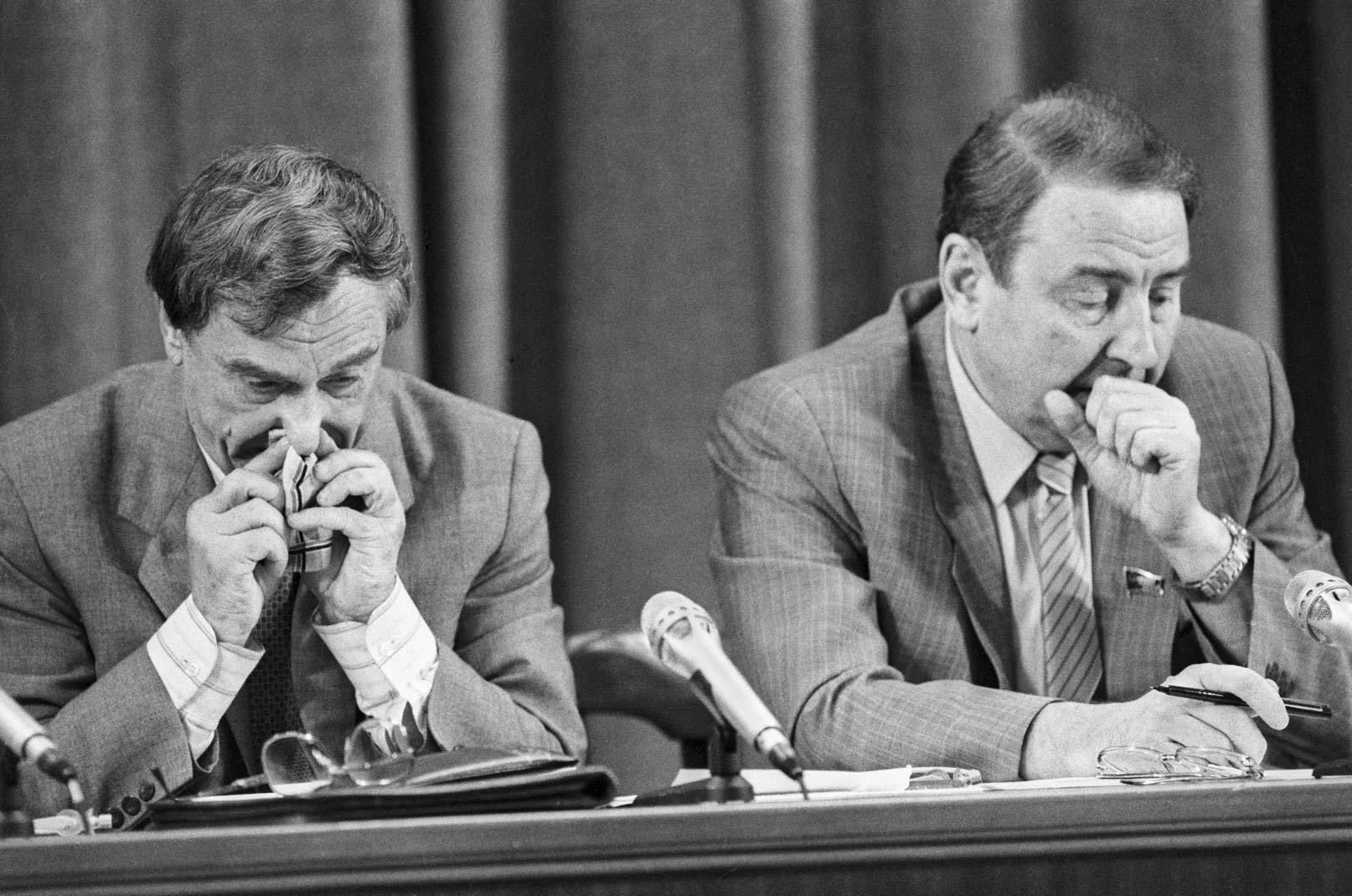 Пресс-конференция ГКЧП 19.08.1991